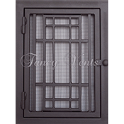 Fancy Vents Craftsman Return Filter Grill - Small Sizes