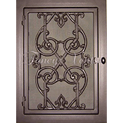 Fancy Vents Victorian Return Filter Grill - Small Vents