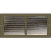 Baseboard Return Air Grille - Golden Sand Finish