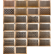 Pattern Cut Designer Wall Grilles