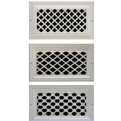 Distinguished Design Resin Wall Grills