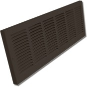 Shoemaker 1150 Baseboard Return Grilles - Designer Color