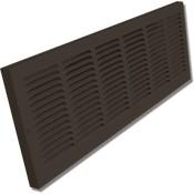 Shoemaker 1150 Baseboard Return Grilles - Designer Color