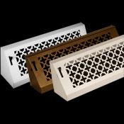Victorian Baseboard Registers Bronze Series Baseboard