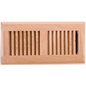 White Oak Drop-In Floor Register