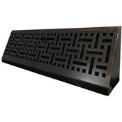 Wicker Oil Rubbed Bronze Baseboard