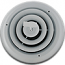 White Round Register - 8 Inch