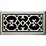 Classic Grills Renaissance Themed Return Air Grills - White Bronze