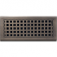 Classic Grills Craftsman Themed Return Air Grills - Bronze