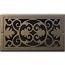 Classic Grills Victorian Themed Registers - Bronze