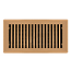 Copper Plated Contemporary Floor Register