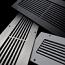Steel Crest Linear or Vertical Wall Register