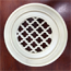 Distinguished Design Round Resin Wall Grills