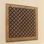 Pattern Cut Wood Filter Grilles