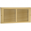 Brass Plated Baseboard Return Grille