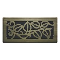 Vintage Brass Napa Floor Register