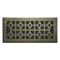 Vintage Brass Templar Floor Register