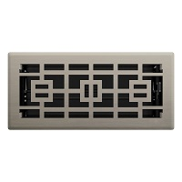 Brushed Nickel Tokyo Floor Register