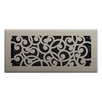 Brushed Nickel Wonderland Floor Register
