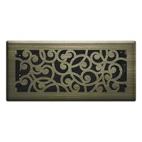 Vintage Brass Wonderland Floor Register