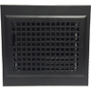 Black Gravity Baseboard Diffuser - Decorative Baseboard Register