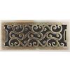 Charleston Floor Register - Antique Brass Finish