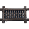 Classic Grills Tropical Themed Return Air Grills - Bronze