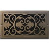 Classic Grills Victorian Themed Registers - Bronze