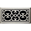 Classic Grills Renaissance Themed Registers - White Bronze