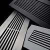 Steel Crest Linear or Vertical Floor Register