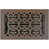 Hamilton Sinkler Scroll Bronze Patina Floor Register