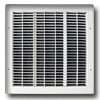 Shoemaker 1500 Series - Custom Metal Wall Return Grilles - Standard Colors