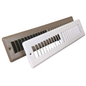 Steel Toe Kick Return Grill - White or Golden Sand