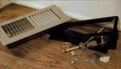 Floor Register Trap