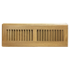 White Oak Wood Baseboard Diffuser - Natural Finish