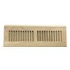 White Oak Wood Baseboard Diffuser - Unfinished