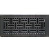 Oil Rubbed Bronze Wicker Floor Register