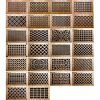 Pattern Cut Designer Wall Registers
