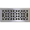 Satin Nickel Marquis Steel Floor Register