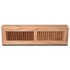Red Oak Wood Baseboard Diffuser - Natural Finish