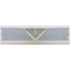 18 Inch Baseboard Return Grill White