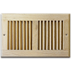 Return Air Grille - Unfinished Red Oak