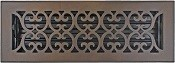 4x14 Decorative Bronze Patina Floor Vent