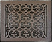 8x10 Decorative Floor Register Vent