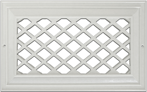 Decorative Resin Wall Grilles Cold Air Return Vents