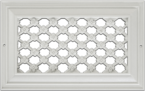 Flower Resin Wall Grill