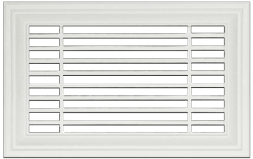 Linear Resin Wall Grill