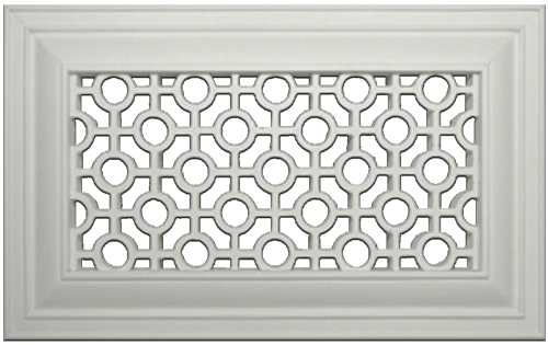 Retro Resin Wall Grill