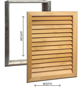 Worth Architectural Series Wood Filter Grills